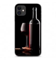 Coque en silicone Apple iPhone 11 - Vin