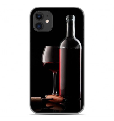 Coque en silicone Apple iPhone 11 - Vin