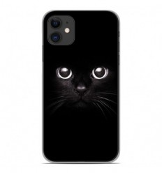 Coque en silicone Apple iPhone 11 - Yeux de chat