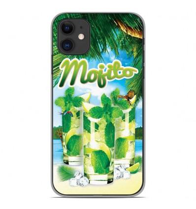 Coque en silicone Apple iPhone 11 - Mojito Plage