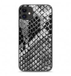 Coque en silicone Apple iPhone 11 - Texture Python