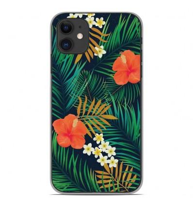 Coque en silicone Apple iPhone 11 - Tropical