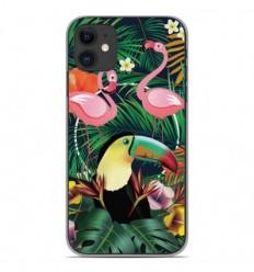 Coque en silicone Apple iPhone 11 - Tropical Toucan
