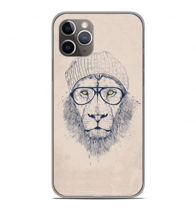 Coque en silicone Apple iPhone 11 Pro - BS Cool Lion