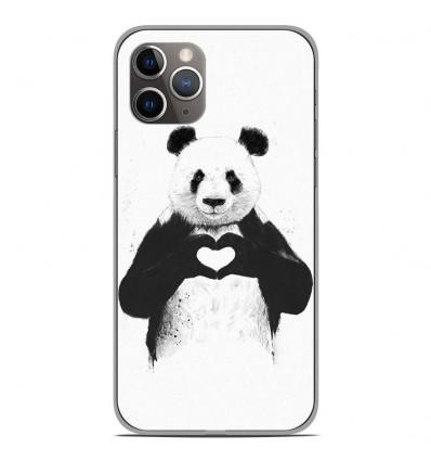 Coque en silicone Apple iPhone 11 Pro - BS Love Panda