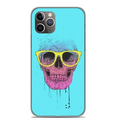 Coque en silicone Apple iPhone 11 Pro - BS Skull glasses
