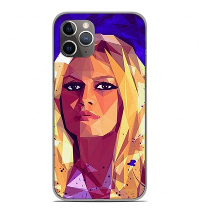 Coque en silicone Apple iPhone 11 Pro - ML Brigitte