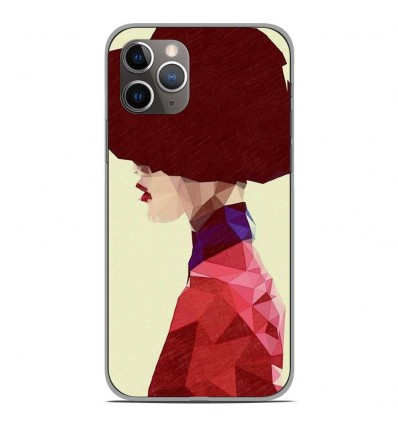Coque en silicone Apple iPhone 11 Pro - ML Chic Hat