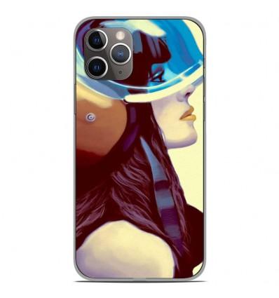 Coque en silicone Apple iPhone 11 Pro - ML Helmetraus