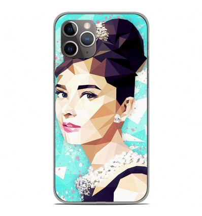 Coque en silicone Apple iPhone 11 Pro - ML Hepburn