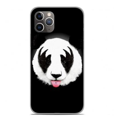Coque en silicone Apple iPhone 11 Pro - RF Kiss Of Panda