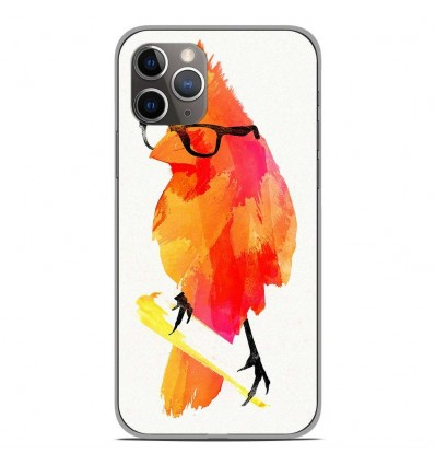 Coque en silicone Apple iPhone 11 Pro - RF Punk Birdy