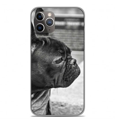 Coque en silicone Apple iPhone 11 Pro - Bulldog