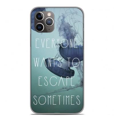 Coque en silicone Apple iPhone 11 Pro - Escape