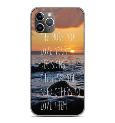 Coque en silicone Apple iPhone 11 Pro - Sunshine