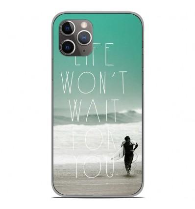 Coque en silicone Apple iPhone 11 Pro - Surfer