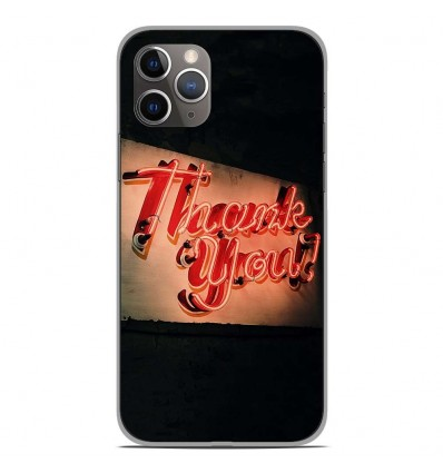 Coque en silicone Apple iPhone 11 Pro - Thank You