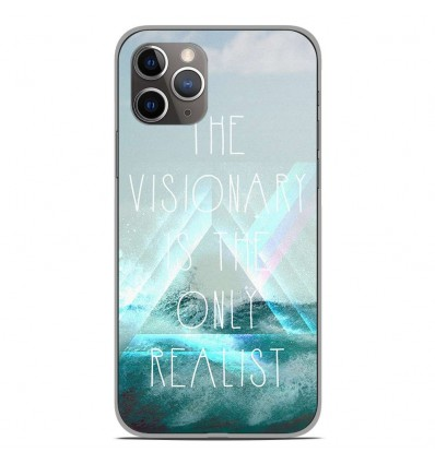 Coque en silicone Apple iPhone 11 Pro - Visionary
