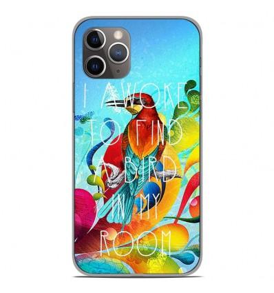 Coque en silicone Apple iPhone 11 Pro - Mocking bird