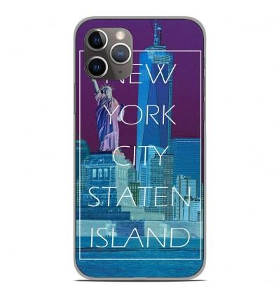 Coque en silicone Apple iPhone 11 Pro - New york
