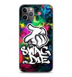 Coque en silicone Apple iPhone 11 Pro - Swag or die