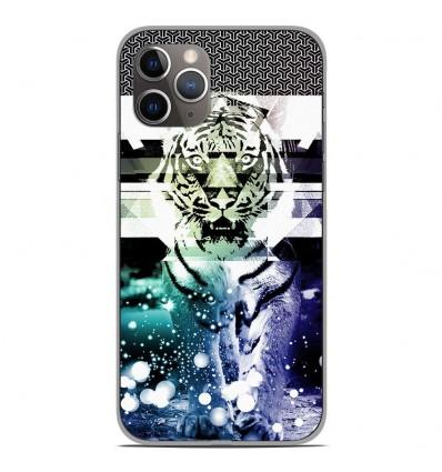 Coque en silicone Apple iPhone 11 Pro - Tigre swag