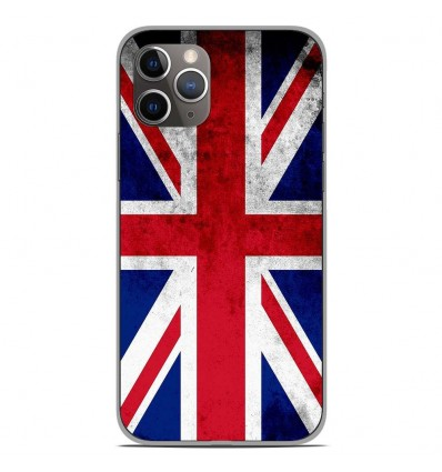 Coque en silicone Apple iPhone 11 Pro - Drapeau Angleterre