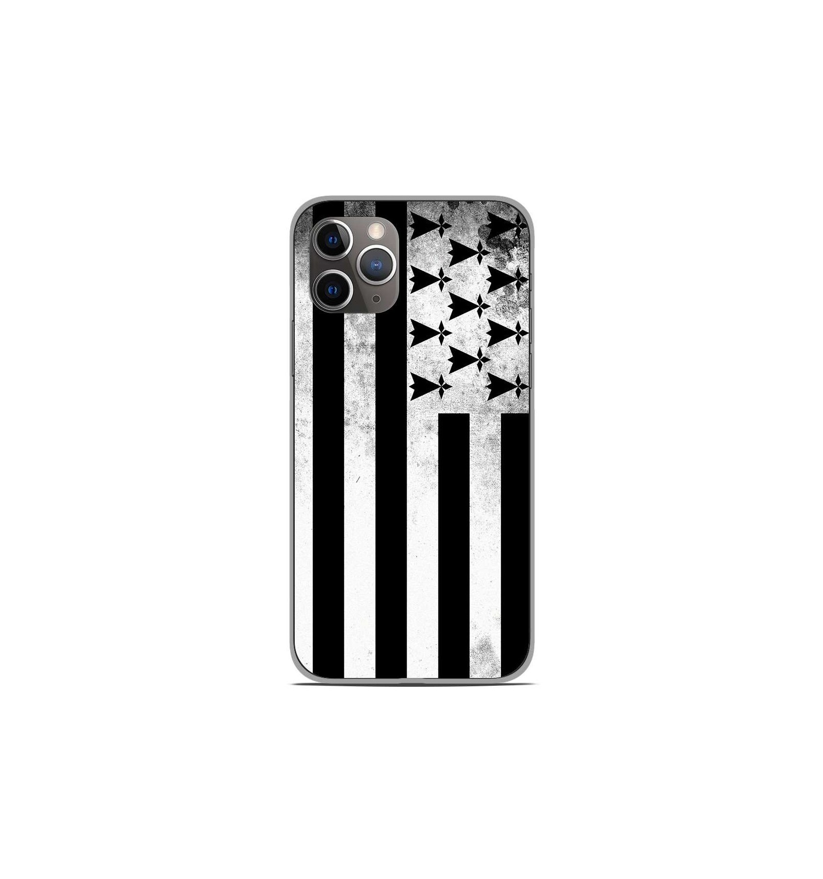 Coque Apple iPhone 11 pro max drapeau angleterre anglais rugby grande bretagne smartphone Euro foot made in France