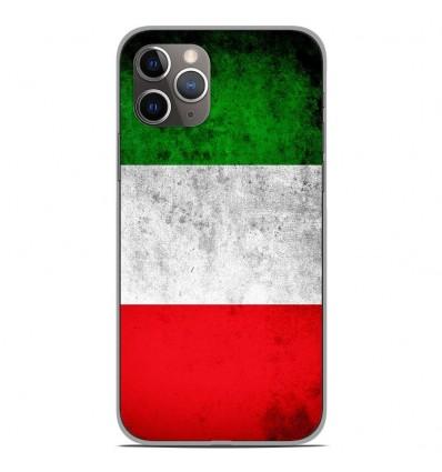 Coque en silicone Apple iPhone 11 Pro - Drapeau Italie