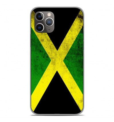 Coque en silicone Apple iPhone 11 Pro - Drapeau Jamaïque