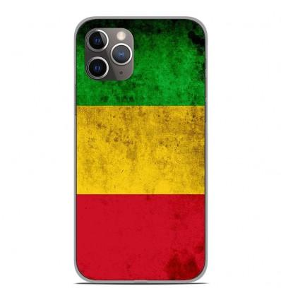 Coque en silicone Apple iPhone 11 Pro - Drapeau Mali