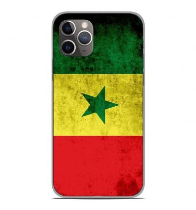 Coque en silicone Apple iPhone 11 Pro - Drapeau Sénégal