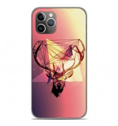 Coque en silicone Apple iPhone 11 Pro - Cerf Hipster