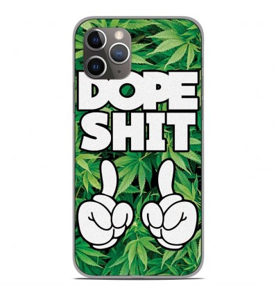 Coque en silicone Apple iPhone 11 Pro - Dope Shit