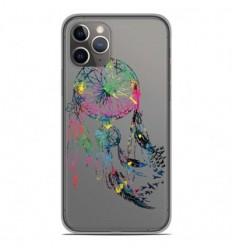 Coque en silicone Apple iPhone 11 Pro - Dreamcatcher Gris