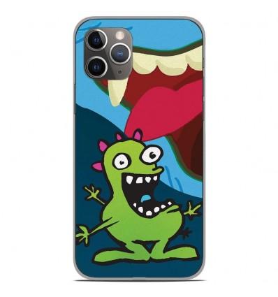 Coque en silicone Apple iPhone 11 Pro - Happy Monster