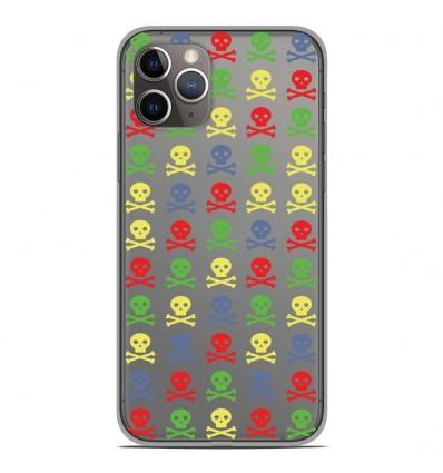 Coque en silicone Apple iPhone 11 Pro - Skull Couleur
