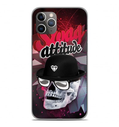 Coque en silicone Apple iPhone 11 Pro - Swag Attitude