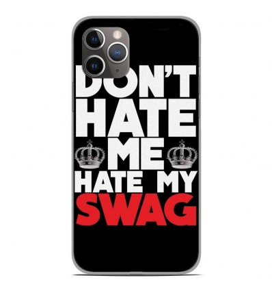 Coque en silicone Apple iPhone 11 Pro - Swag Hate