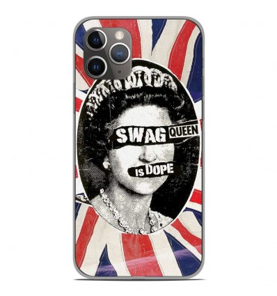 Coque en silicone Apple iPhone 11 Pro - Swag Queen