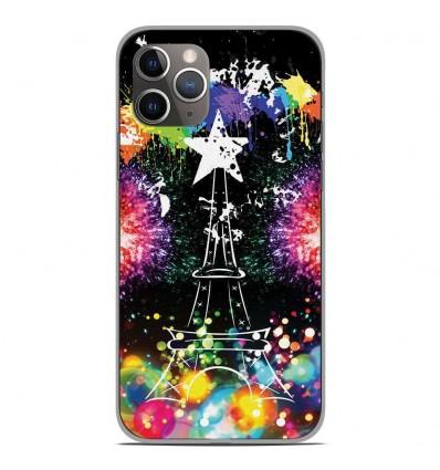 Coque en silicone Apple iPhone 11 Pro - Tour Eiffel