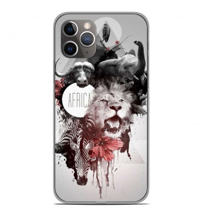 Coque en silicone Apple iPhone 11 Pro - Africa Swag