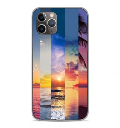 Coque en silicone Apple iPhone 11 Pro - Aloha