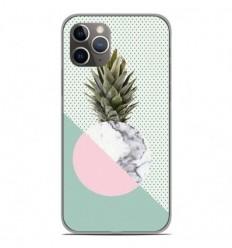 Coque en silicone Apple iPhone 11 Pro - Ananas marbre