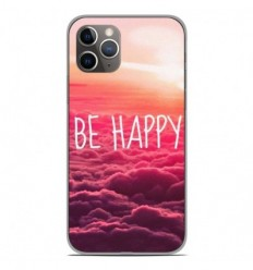 Coque en silicone Apple iPhone 11 Pro - Be Happy nuage