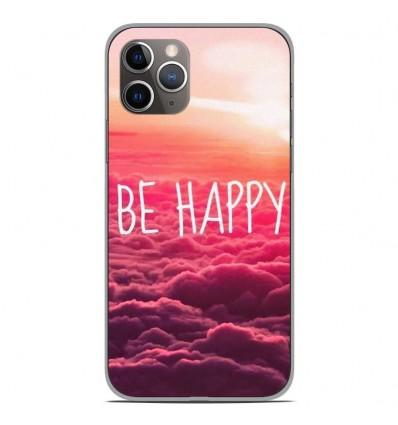 Coque en silicone Apple iPhone 11 Pro - Be Happy nuage