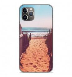 Coque en silicone Apple iPhone 11 Pro - Chemin de plage