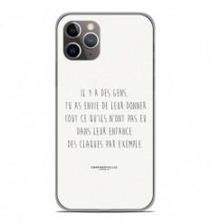 Coque en silicone Apple iPhone 11 Pro - Citation 01