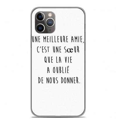 Coque en silicone Apple iPhone 11 Pro - Citation 04