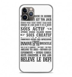 Coque en silicone Apple iPhone 11 Pro - Citation 11